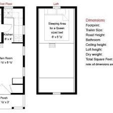 micro house floor plans 12x20 tarleton tiny house floor