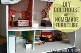 Image Modern Dollhouse Lansdowne Life Modern Diy Dollhouse With Homemade Furniture part Of