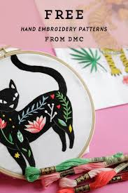 Free Hand Embroidery Patterns Fascinating Free Hand Embroidery Patterns By DMC You Can Download Now