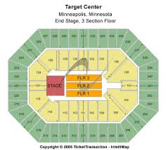 Target Center Tickets And Target Center Seating Charts