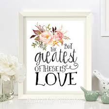 nursery bible verse print decor but the greatest of these is love love wedding print on bible verses about love wall art with nursery bible verse print decor but the from butterflywhisper on