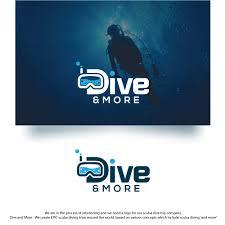 Scuba Diving Logo Design Modern Professional Travel Logo Design For Dive And More