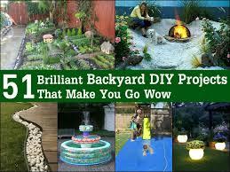 Diy Yard Projects 51 Brilliant Backyard Diy Projects That Make You Go Wow