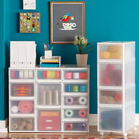plastic storage drawers. Like-it Clear Stackable Drawers Plastic Storage Drawers