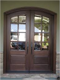 unparalleled double glass doors interior double glass front doors with dark brown wooden frame
