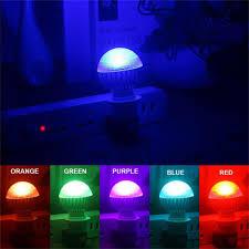 Blue Light Bulbs Bulk E27 8w 2 Million Color Rgb Led Light Flash Bulb With Remote Control White