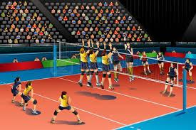 волейбол Фотографии картинки изображения и сток фотография без  Векторные иллюстрации людей играющих в волейбол в конкурсе на соискание спортивной серии Иллюстрация