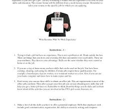 How To Make A Resume For A Teenager First Job How To Write Your First Resume Uxhandy Com Forrt Time Job 94