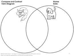 Compare And Contrast Venn Diagram Compare And Contrast Activities Venn Diagram Cut And Paste Graphic