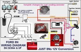 ford 8n wiring diagram 9n 2n front mount distributor 12 volt 8N 6 Volt Wiring Diagram diagram gallery ford 8n wiring diagram visualize