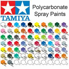 Tamiya Ps Paint Chart Tamiya Spray Paint 100ml Ts Plastic Choice Of Colours