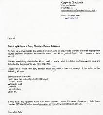 Complaint Letters Samples 98410565008 Example Complaint