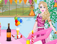 barbie birthday party room cleaning girl games