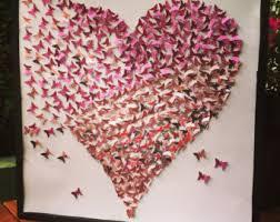 3d papillon wall art papillon coeur papillon toile papier papillon papier papillon art 3d papillon fille on 3d paper heart wall art with 3d papillon wall art papillon coeur papillon toile papier papillon