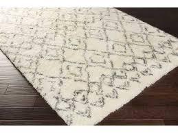 surya tasman rectangular cream dark green area rug