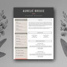 25 Beautiful Free Resume Templates 2018 Dovethemes With Creative