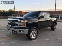 8 2014 Silverado 1500 Chevrolet Suspension Lift 3 Oem Spaced Out Stockers Chrome Aggressive 1 Outs Chevrolet Silverado 2014 Chevrolet Silverado 1500 Gmc Trucks