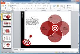 smartart powerpoint templates smartart graphics for powerpoint 2007 on target darts template for