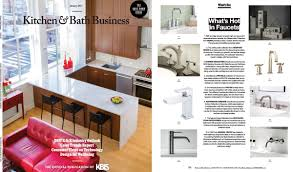 Kitchen Magazine Mod Faucets Featured In Kitchen Bath Business Magazine