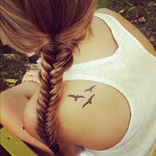 birds tattoo on shoulder. Wonderful Birds Cute Women Bird Tattoo On Shoulder Intended Birds Tattoo On Shoulder O