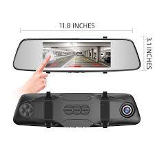 Best Rear View Mirror Camera vs Window Mounted Dash Cam 2019