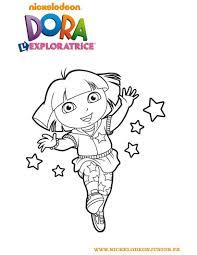 Coloriage Dora Coloriages Coloriage Imprimer Gratuit Fr