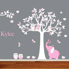 girl monkey wall decals for nursery white wall decals for nursery cute wall decals for nursery