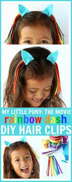 diy my little pony hair clip