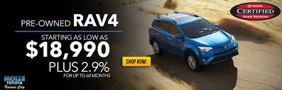 Molle Toyota Pre-Owned Super Sale - Molle Toyota