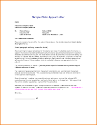 insurance appeals letters laveyla com sample insurance appeal letter template