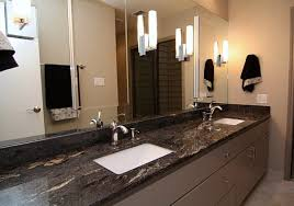 viking black granite countertop contemporary bathroom pictures of black granite bathroom countertops
