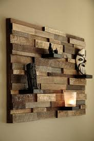 use old pallet shelves in your home wall to display your ancient crafts or new decoration pieces which you have in your home to create worrying look your