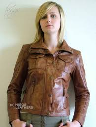 higgs leathers all soldjean women s bikers leather jackets at uk