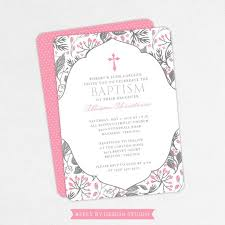 Printable Baptism Invitations Pink And Gray Baptism Invitation Printable Baptism Invitation Floral Baptism Invitation Pink Baptism Invitation Girl Baptism Invitation