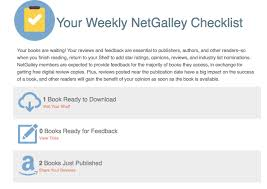 Weekly Checklist Weekly Checklist For Members Netgalley