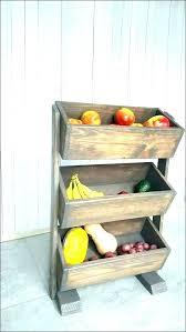 countertop fruit basket curved fruit chute kitchen