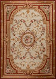 11 x 16 oversize hand woven wool french aubusson weave rug
