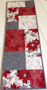Best 25+ Christmas table runners ideas on Pinterest | Quilted ... & Quilted Christmas Table Runner Table Cloth for by LawsonCreations Adamdwight.com