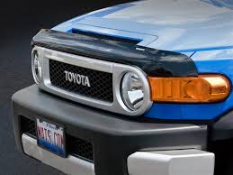 2016 toyota fj cruiser bug deflector and guard for truck suv and car hoods weathertech