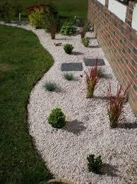 Decoration Jardin Avec Gravier On D Interieur Moderne Jardin Avec Cailloux Et Graviers Pour Am Nagement De Jardin
