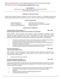 Sample Resume For Legal Secretary Sample Legal Secretary Resume