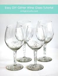 diy wine glass diy beach wine glass candle holders