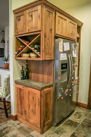 Hickory Wine Hutch Makes A Statement In Any Kitchen Home