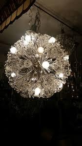 luxury vintage sputnik design crystal chandelier