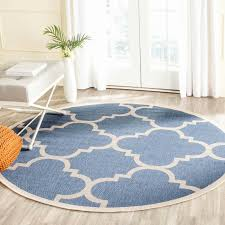4 x 6 entry rug best of safavieh courtyard quatrefoil blue beige indoor outdoor rug 4