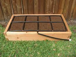 2x4 cypress raised garden kit with