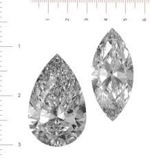 How To Calculate The Carat Of Marquise Cut And Pear Cut Diamonds
