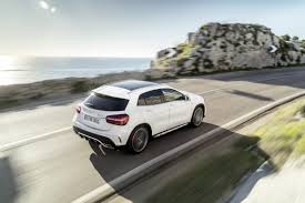Benz Unveils New and Refreshed 2018 GLA Models
