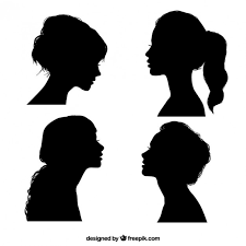 Black Girl Silhouettes Vector Free Download