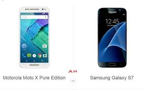 Motorola Phone Comparison Chart Phone Comparisons Motorola Moto X Pure Edition Vs Samsung